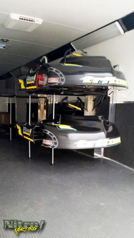 Kart Stand Trailer Rack