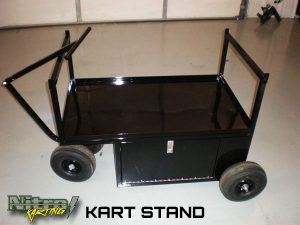 how to build a kart stand