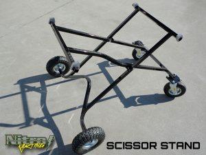 Nitro Scissor Kart Stands