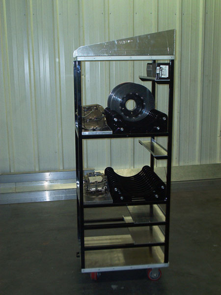 Parts Racks Shop Garage
