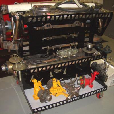 Portable Parts Racks