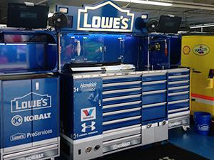 NASCAR-style Pitboxes